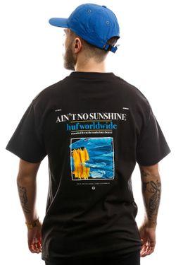 Afbeelding van HUF T-shirt Aint No Sunshine S/S Tee Black TS00994-BLACK