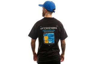 Foto van HUF T-shirt Aint No Sunshine S/S Tee Black TS00994-BLACK