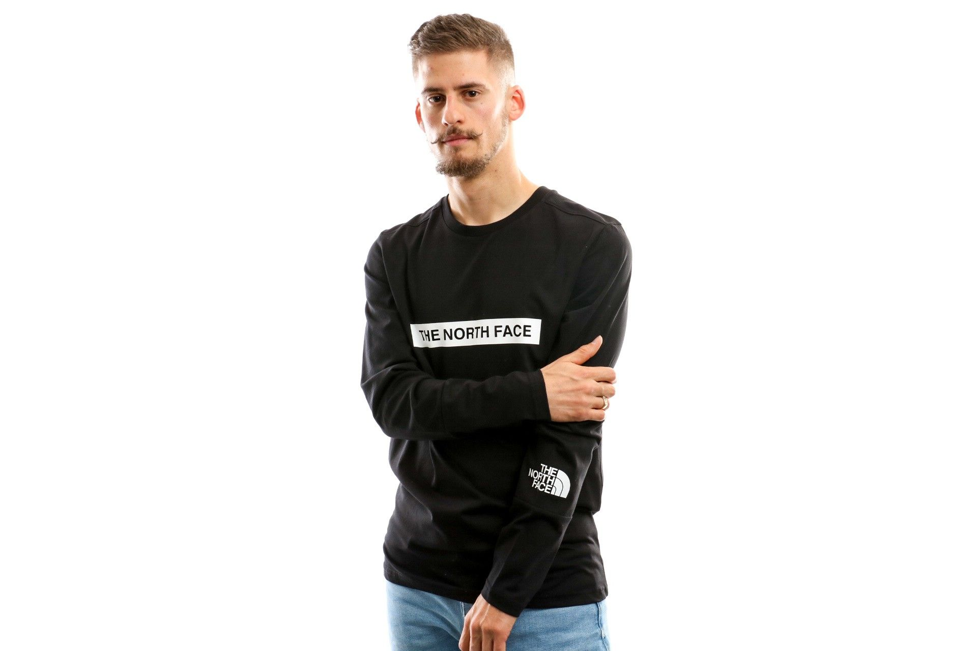 Afbeelding van The North Face M L/S Light Tee T93S3G Longsleeve Tnf Black