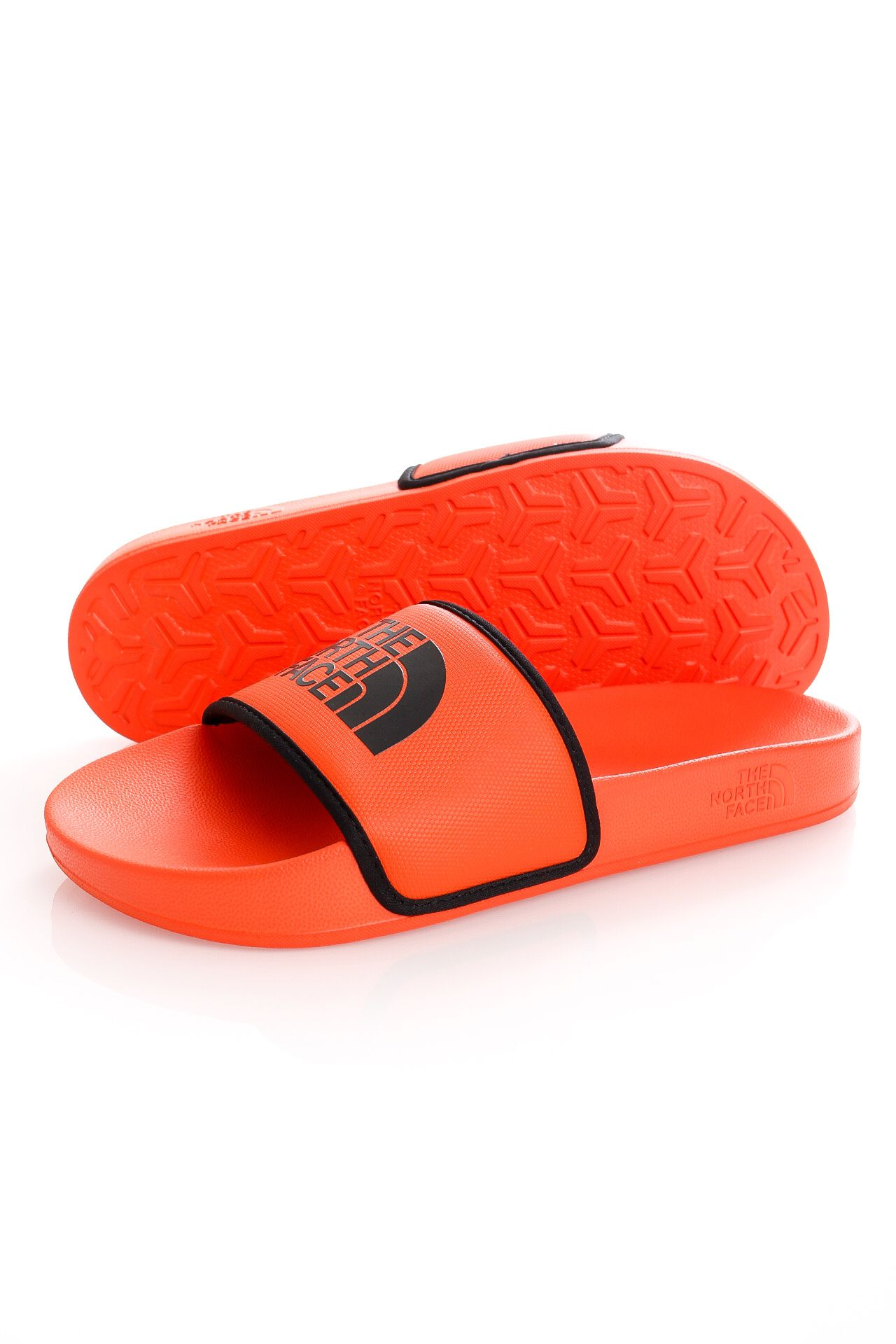 Afbeelding van The North Face Slippers Mens Base Camp Slide III Flame/TNF Black NF0A4T2RYXP1