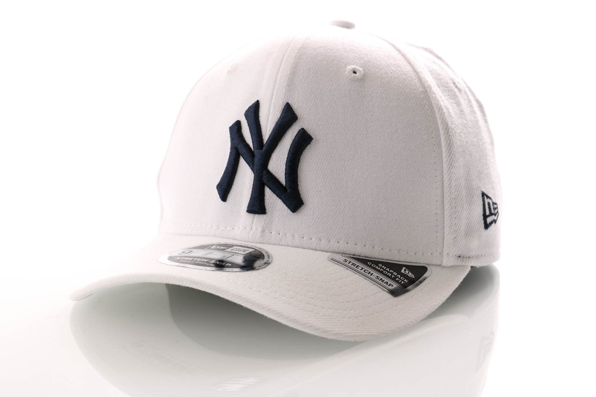 Afbeelding van New Era Snapback Cap New York Yankees White Base Stretch Snap 9Fifty 12040168