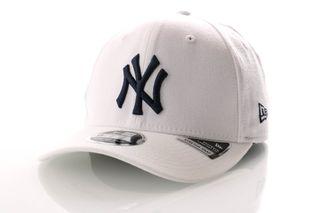Foto van New Era Snapback Cap New York Yankees White Base Stretch Snap 9Fifty 12040168