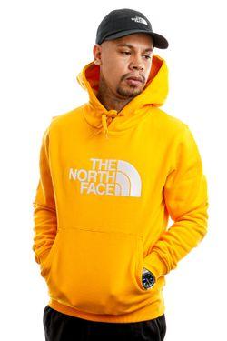 Afbeelding van The North Face Hooded Men's Drew Peak Pullover Hoodie - Eu Summtgld/Tnfwh NF00AHJYVCV1