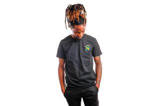 Foto van New Era T-shirt Minor League Heritage Patch BLACK NE12829907