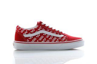 Foto van Vans Sneakers Ua Old Skool (Logo Repeat) Rcngrd/Trwht VN0A4U3BW351