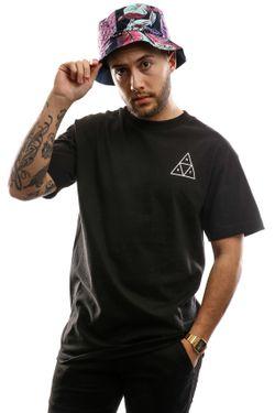 Afbeelding van Huf Essentials Tt S/S Tee Ts00509-Black T Shirt Black