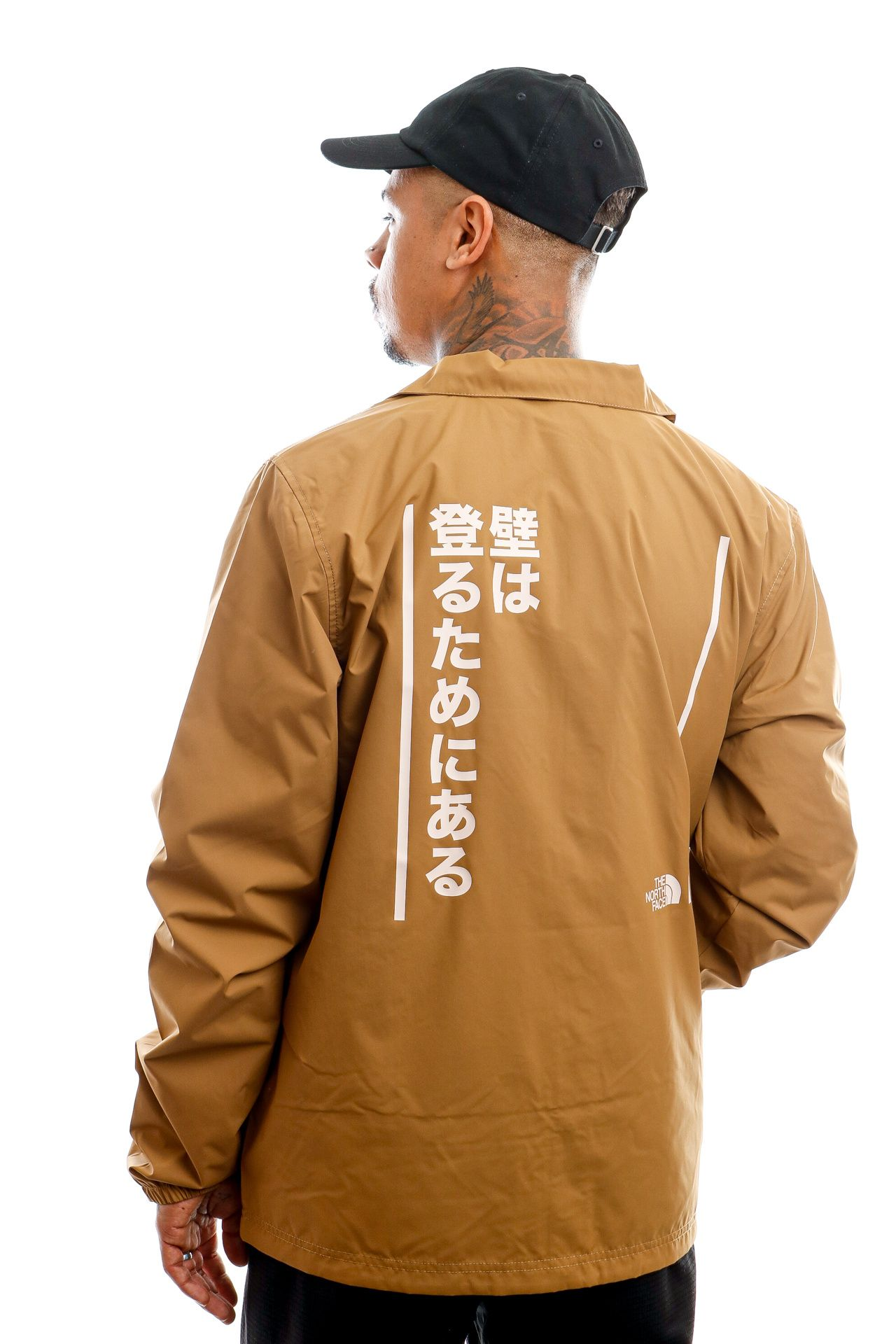 Afbeelding van The North Face Jas U Walls Are Meant For Climbing Coaches Jacket Utility Brown NF0A4VUO1731