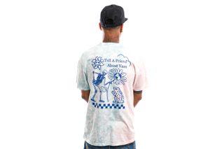 Foto van Vans T-Shirt Tell a Friend Fusion Coral VN0A5E7CZD71