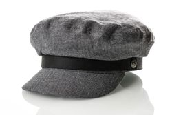 Afbeelding van Brixton Fiddler Cap 4 Flatcap Middle Grey