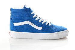 Afbeelding van Vans Ua Sk8-Hi Vn0A4Bv6V781 Sneakers (Pig Suede) Princess Blue/True White