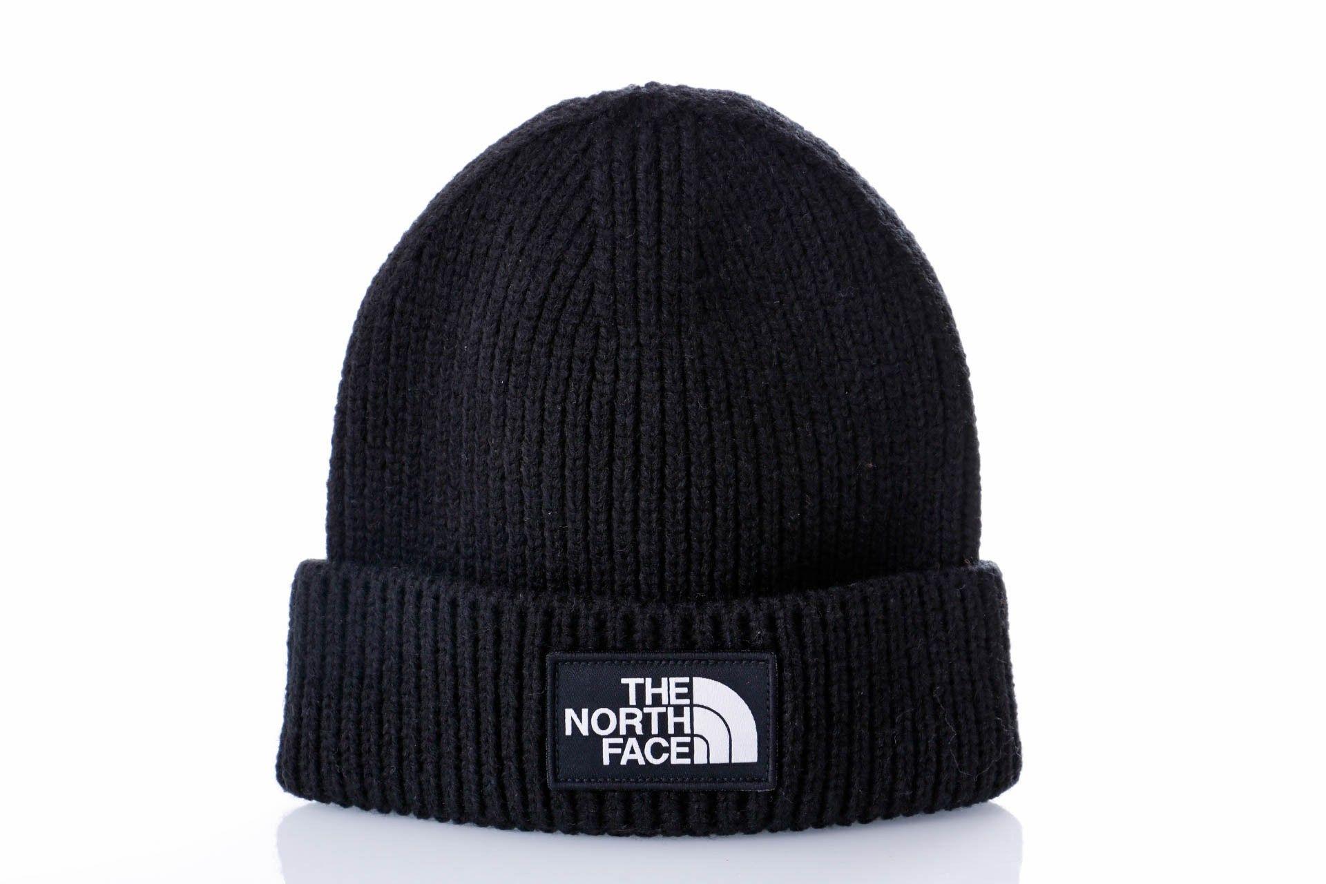 Afbeelding van The North Face TNF Logo Box Cuff Beanie NF0A3FJXJK3 Muts TNF Black