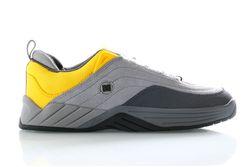 Afbeelding van DC Sneakers Williams Slim Grey/Yellow ADYS100539