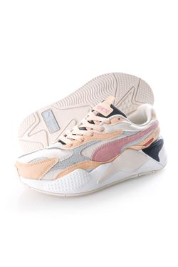 Afbeelding van Puma Sneakers RS-X³ Layers Wn?s Marshmallow-Natural Vachetta 37466