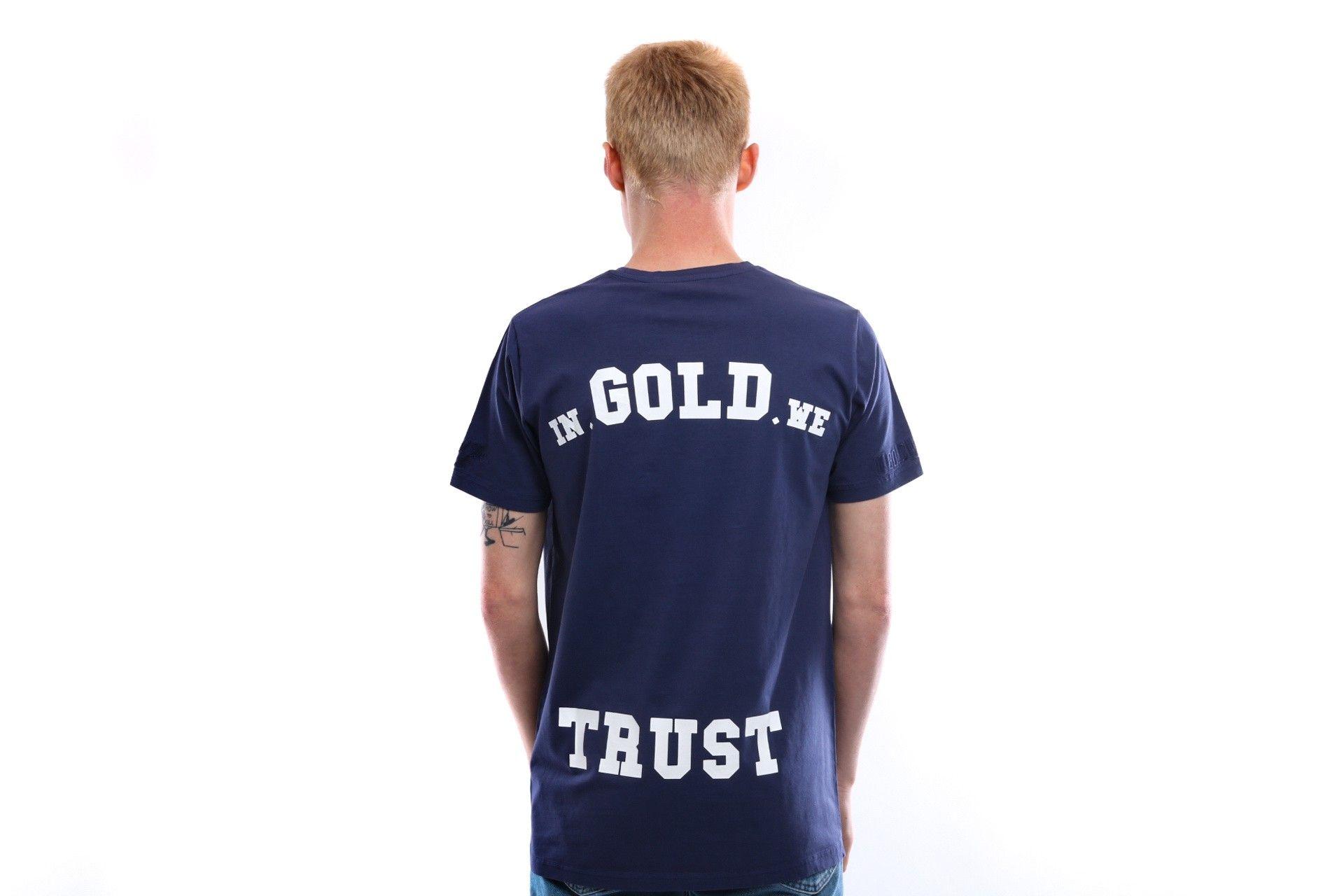 Afbeelding van In Gold We Trust T Shirt Basic Tee Eclipse IGWT-001