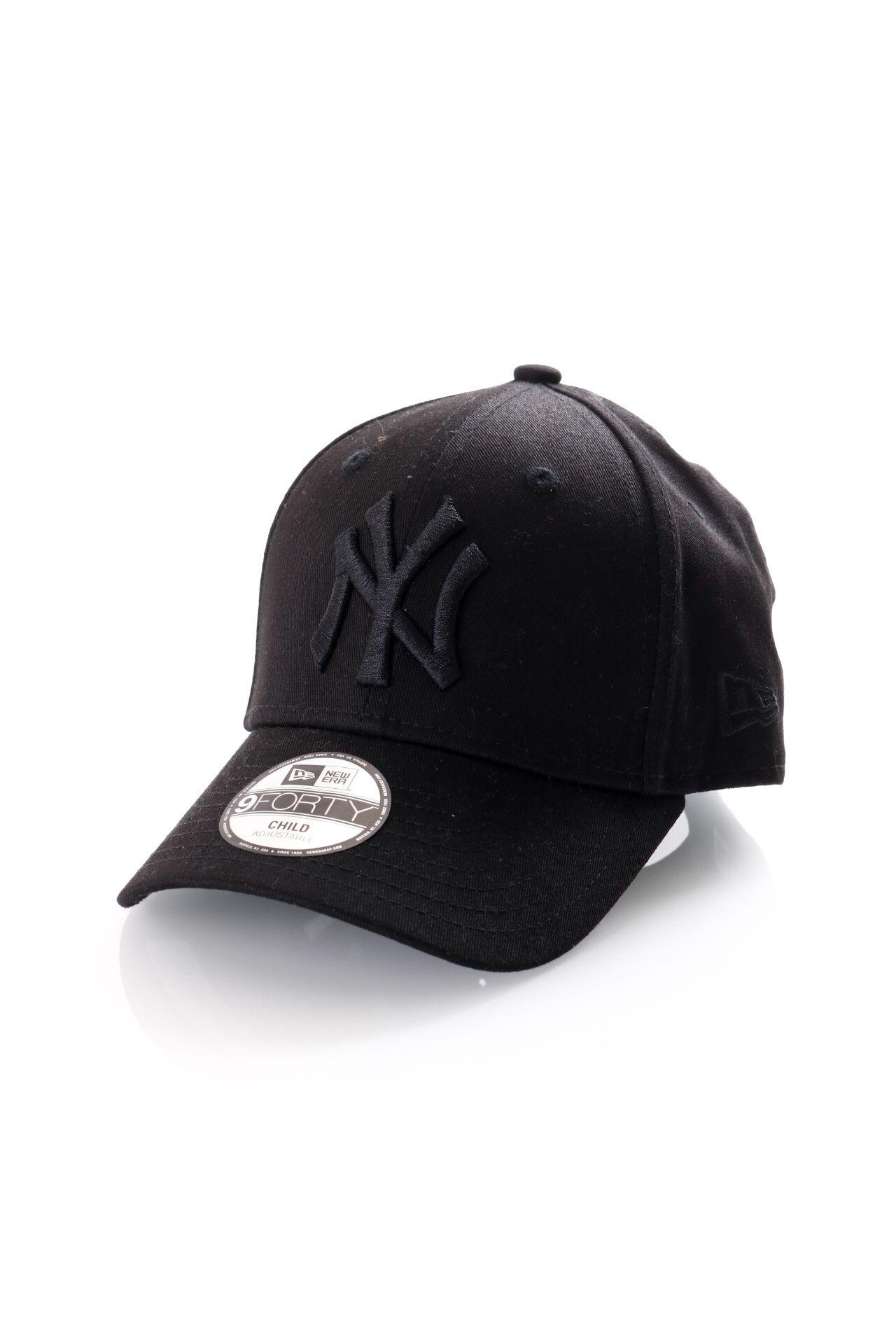 Afbeelding van New Era Dad Cap Kids League Essential 9Forty Black 12053099
