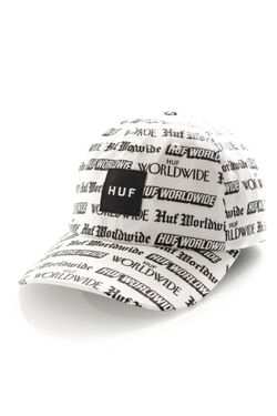 Afbeelding van HUF Bucket Fake News Cv Hat White HT00323