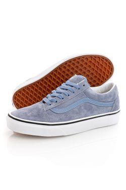 Afbeelding van Vans Sneakers UA Old Skool (PIG SUEDE) Tempest Blue/True Wh VN0A3WKT4R21