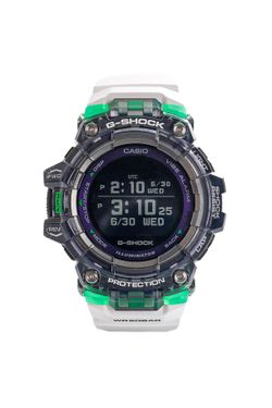Afbeelding van Casio Horloge G-SHOCK Physical Lab GBD-100SM White/Green Black