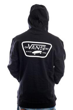 Afbeelding van Vans Hoodie Full Patched PO Black VN0A45CJBLK1