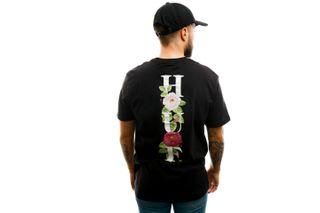 Foto van HUF T-shirt Central Park S/S Pocket Tee Black TS01093-BLACK
