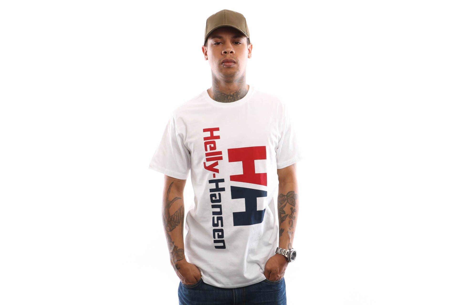Afbeelding van Helly Hansen Hh Urban Retro Tee 29662 T Shirt White