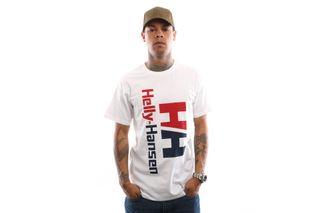Foto van Helly Hansen Hh Urban Retro Tee 29662 T Shirt White