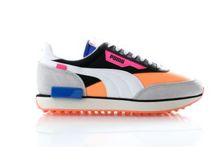 Foto van Puma Sneakers Rider Play On Puma Black-Fizzy Orange-High Rise 371149 04