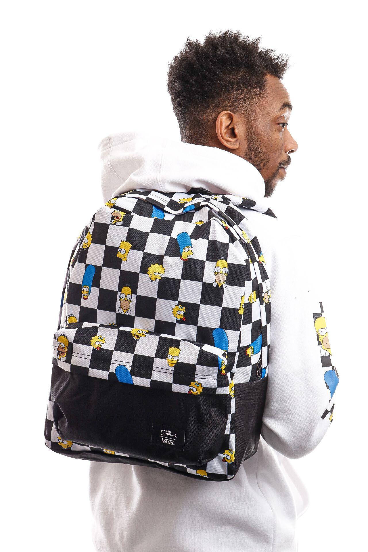 Afbeelding van Vans x Simpsons Rugtas Mn Old Skool III Backpack Family Blocked VN0A3I6RZZZ