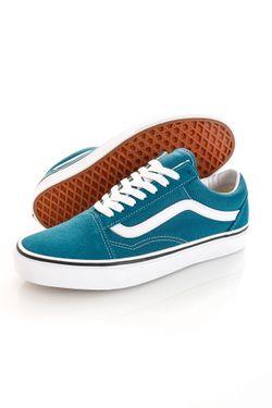 Afbeelding van Vans Sneakers UA Old Skool Blue Coral/True White VN0A38G19EM1