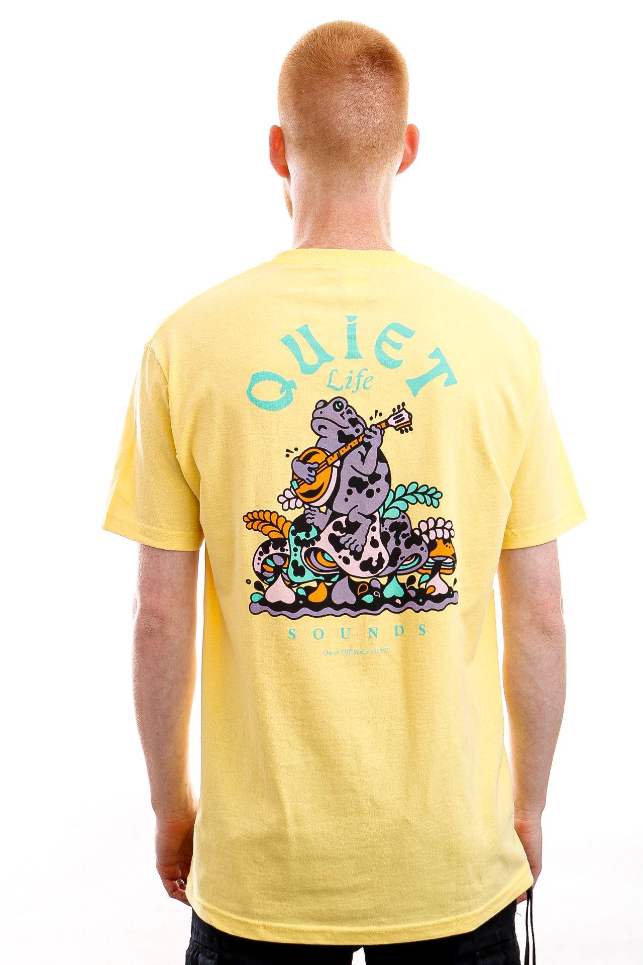 Afbeelding van The Quiet Life T-shirt Quiet Life Sounds Banana QL-21SPD1-1138