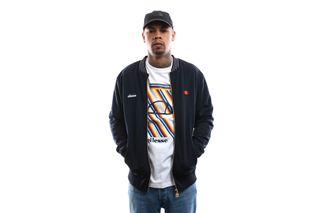 Foto van Ellesse Trainingsjas Sirola Navy SHE08779