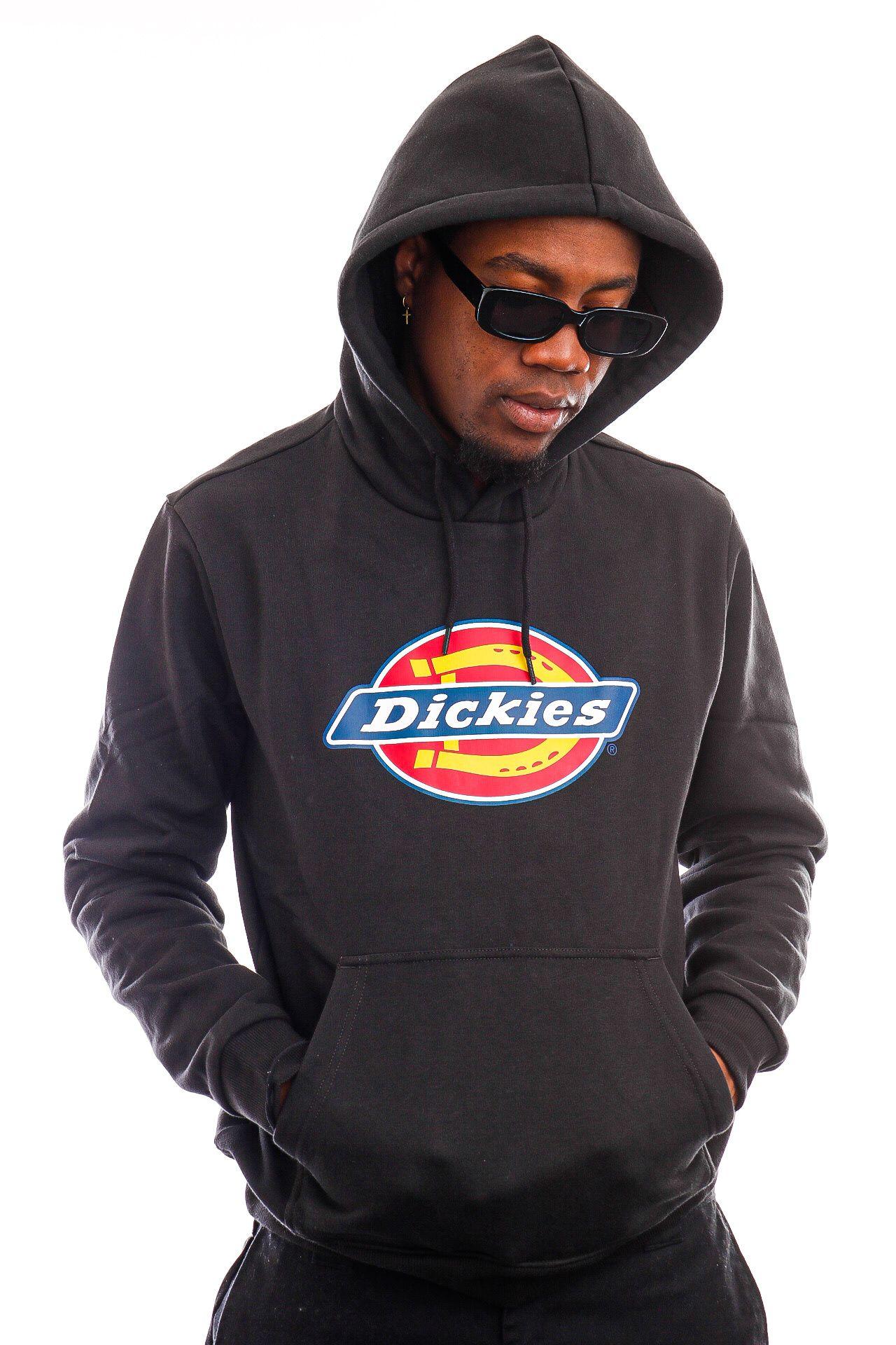 Afbeelding van Dickies Hoodie Icon Logo Hoodie Black DK0A4XCBBLK1