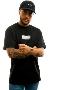 Afbeelding van HUF T-shirt Youth Of Today S/S Tee Black TS01020-BLACK