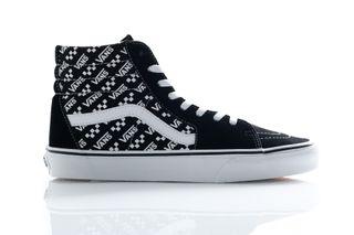 Foto van Vans Sneakers Ua Sk8-Hi (Logo Repeat) Blk/True Wht VN0A4U3CTEZ1