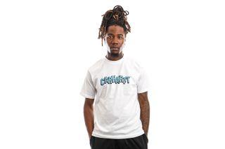 Foto van Carhartt T-Shirt S/S Shattered Script White I029604