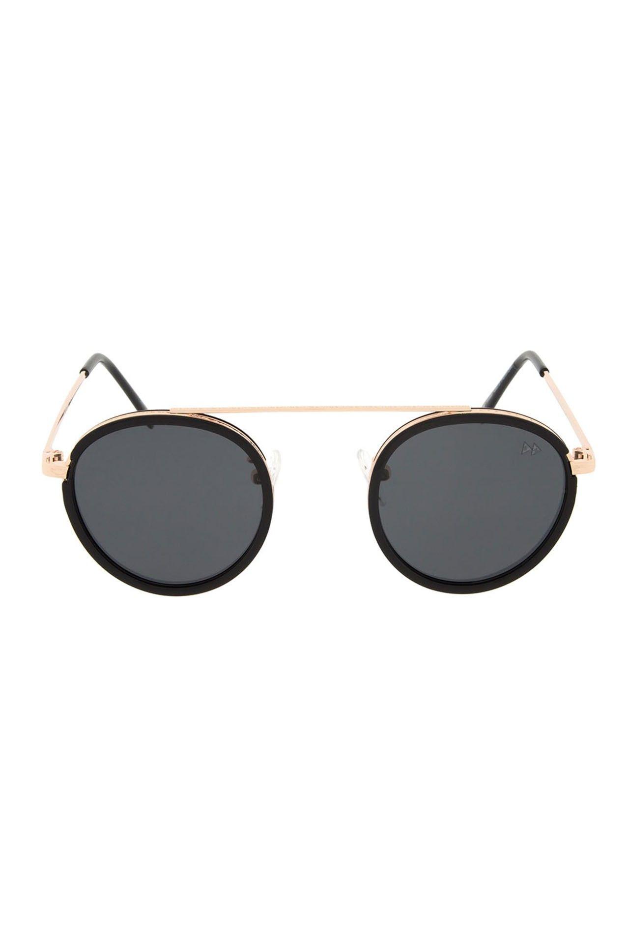 Afbeelding van Sunheroes Ocean Premium 2317 Zonnebril Pale Gold Metal With Black Plastic