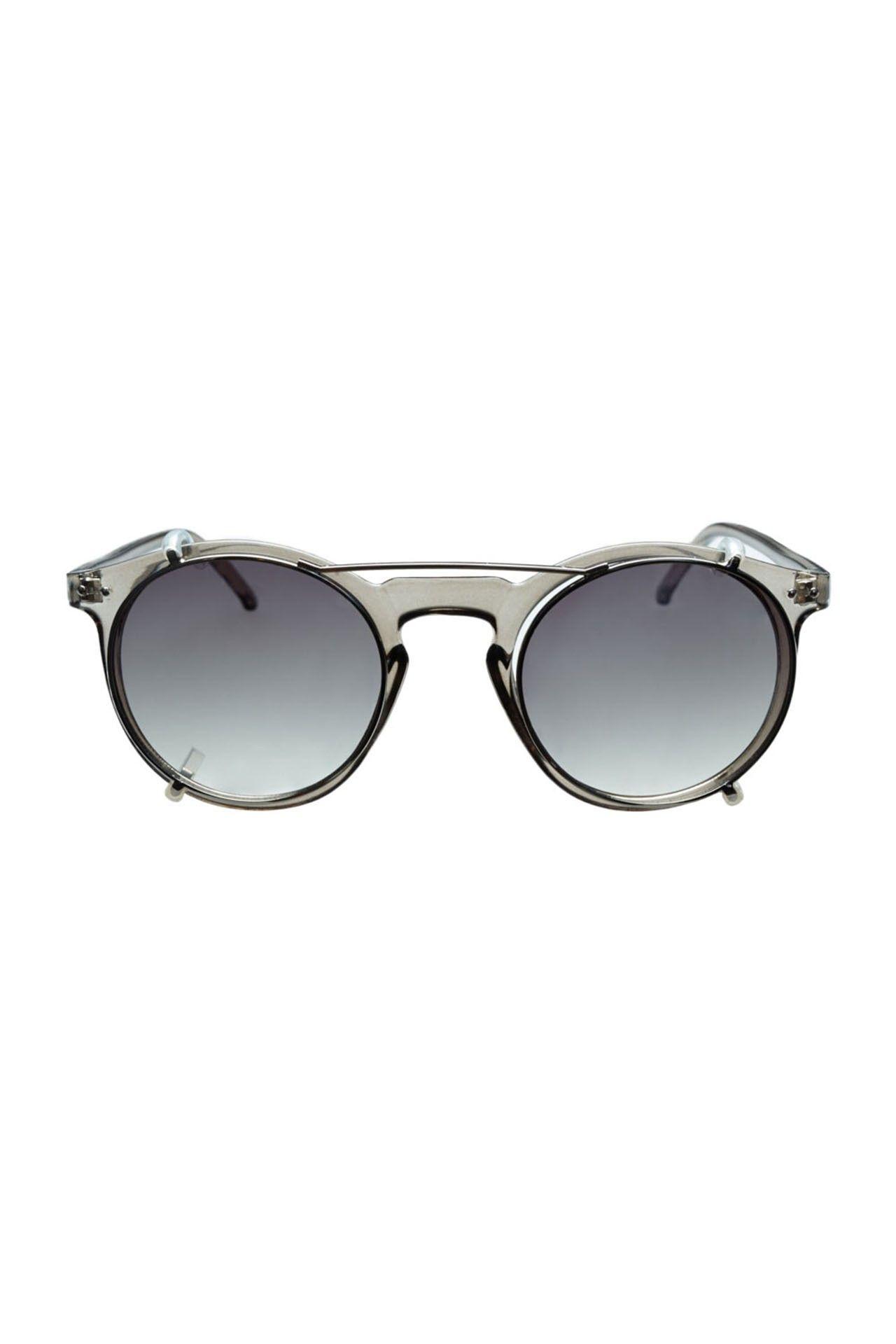 Afbeelding van Icon Eyewear Zonnebril M180921 Dark Clear Grey- Clear C