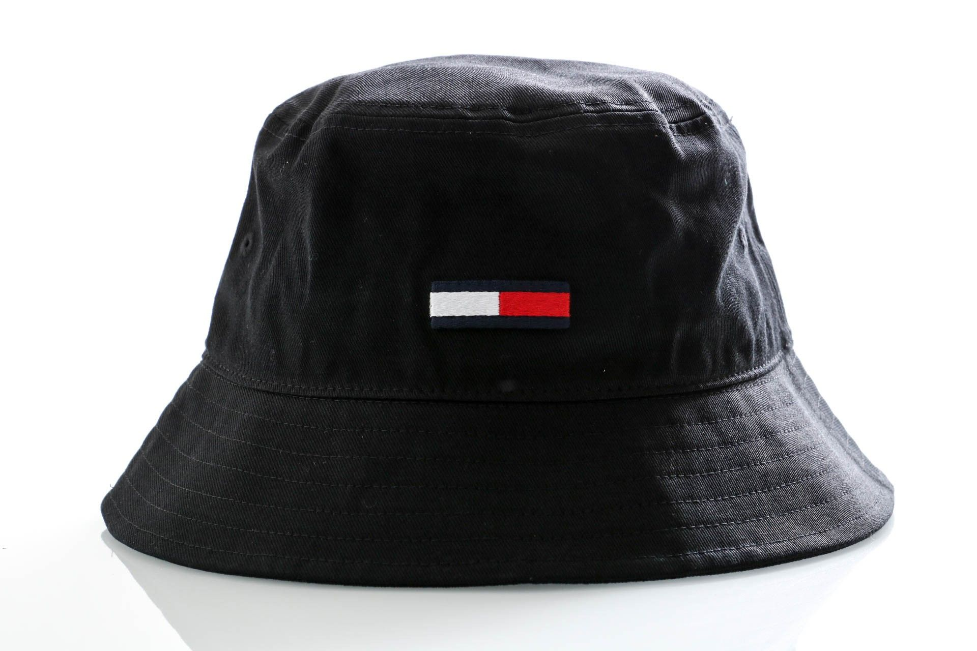 Afbeelding van Tommy Hilfiger Bucket Tjm Flag Bucket Hat Black AM0AM06086