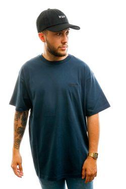 Afbeelding van Carhartt T-shirt S/S Script Embroidery T-Shirt Admiral / Black I025778