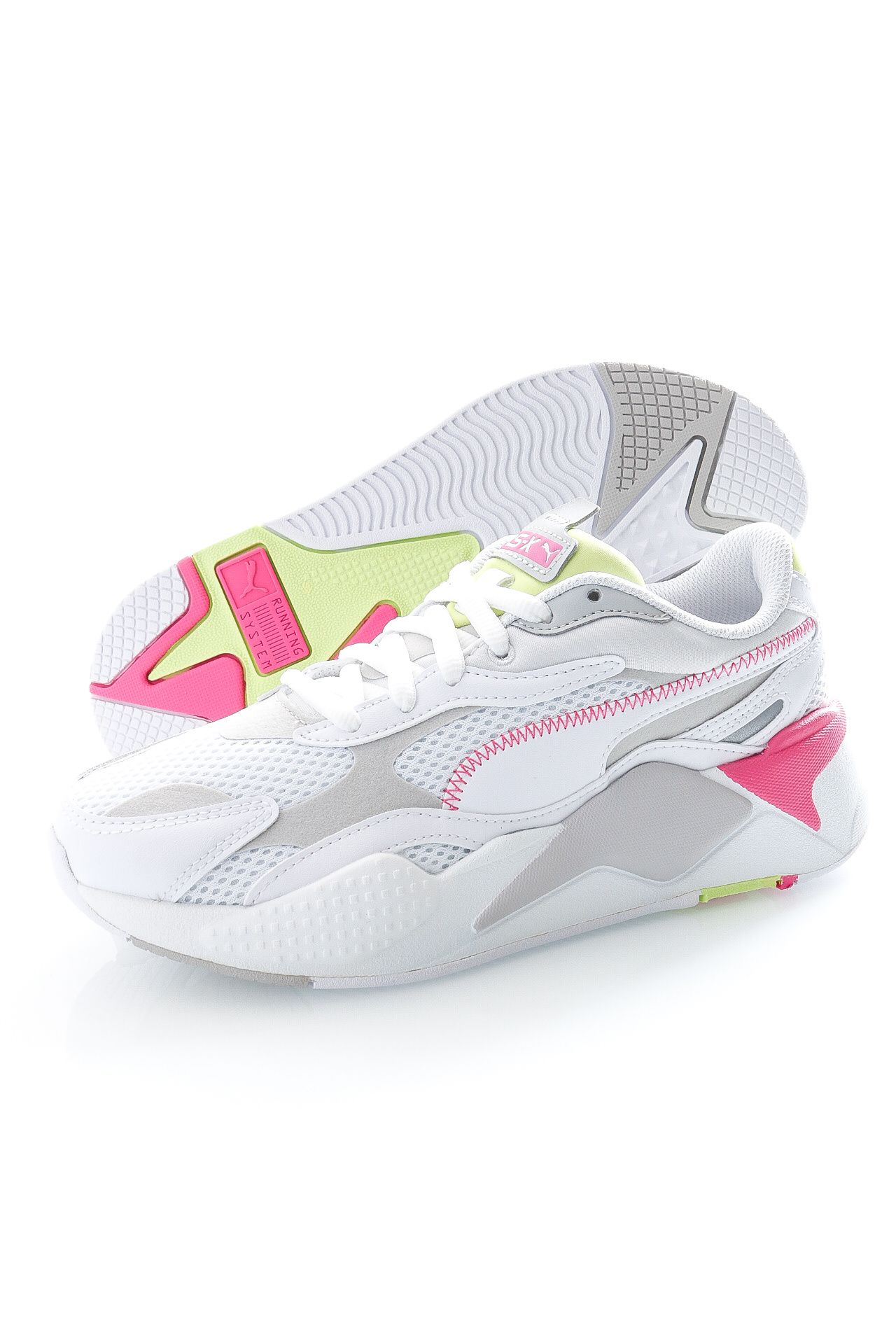 Afbeelding van Puma Sneakers RS-X³ Millenium Puma White-Gray Violet-Sharp Green 37323
