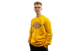 Foto van Dickies Crewneck Pittsburgh Sweatshirt Spectra Yellow DK2202410SY1