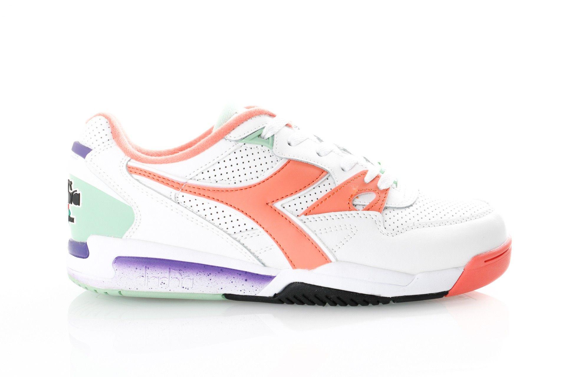 Afbeelding van Diadora Rebound Ace 501173079 Sneakers White / Fresh Salmon