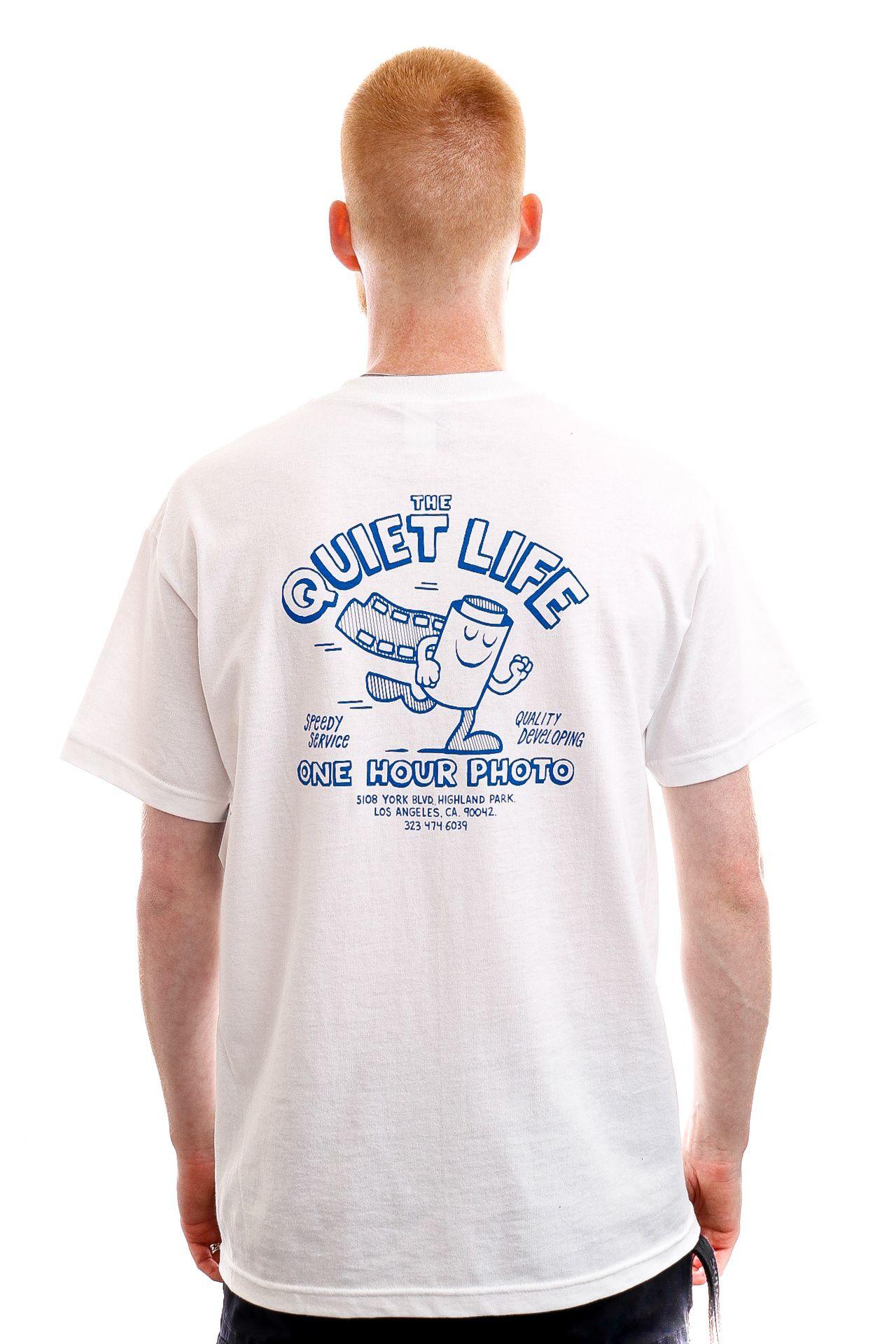 Afbeelding van The Quiet Life T-shirt One Hour Photo White QL-21SPD1-1169