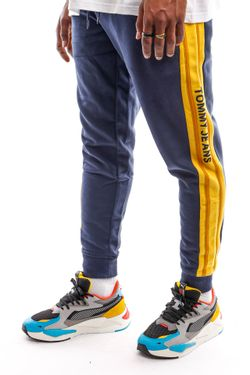 Afbeelding van Tommy Jeans Sweatpant TJM RIB INSERT SWEAT Twilight Navy DM0DM11471
