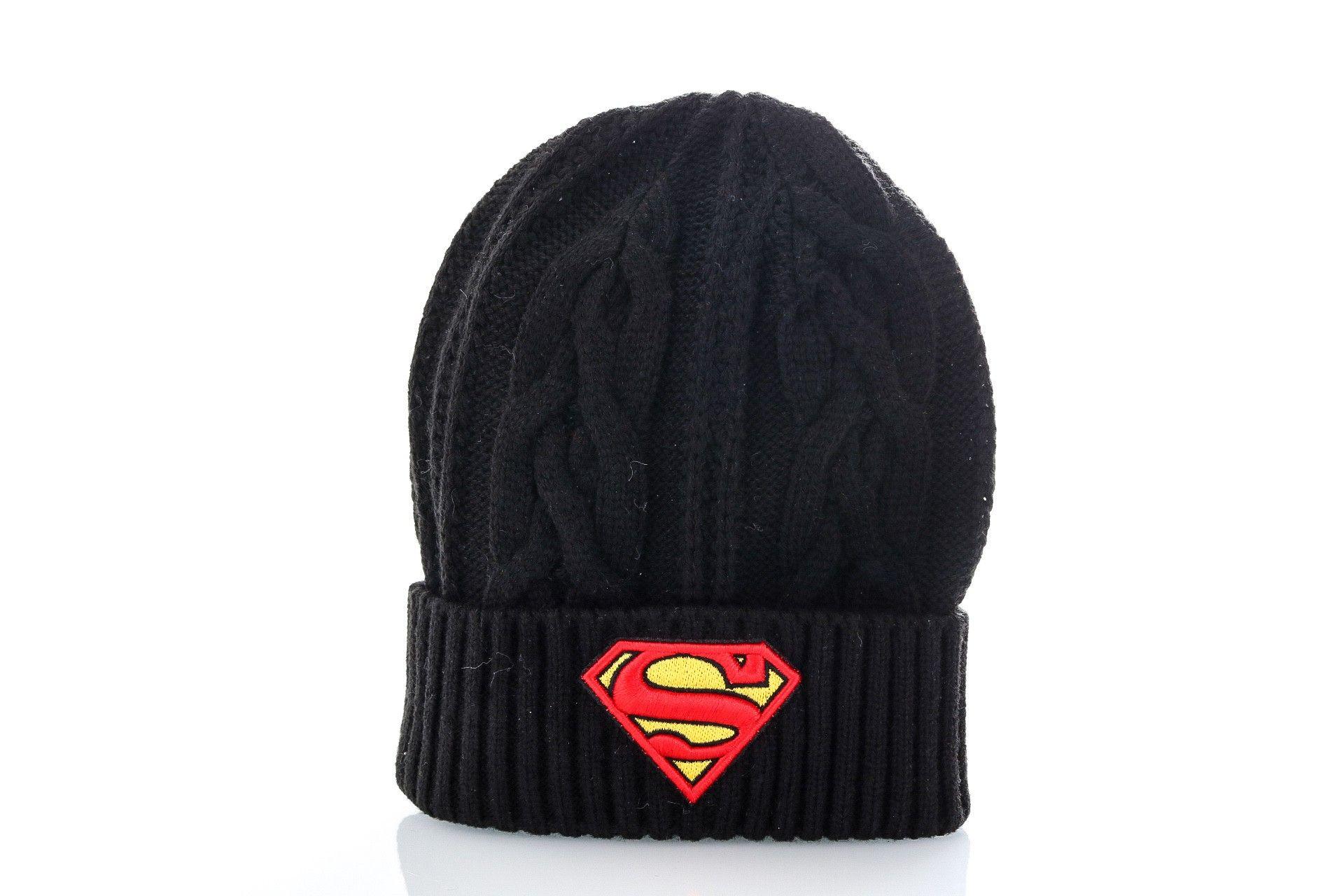 Afbeelding van New Era Muts Hero cuff superman Black