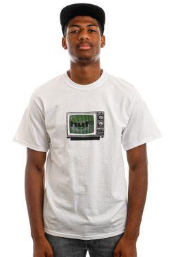 Afbeelding van HUF T-Shirt HUF EYE WITNESS S/S White TS01524