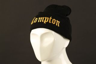 Foto van Leftside Beanie Compton Black/Gold