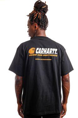 Afbeelding van Carhartt T-shirt S/S Software Black I029619