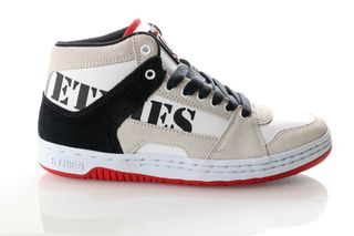 Foto van Etnies Mc Rap High 4101000506 Sneakers White/Navy/Red
