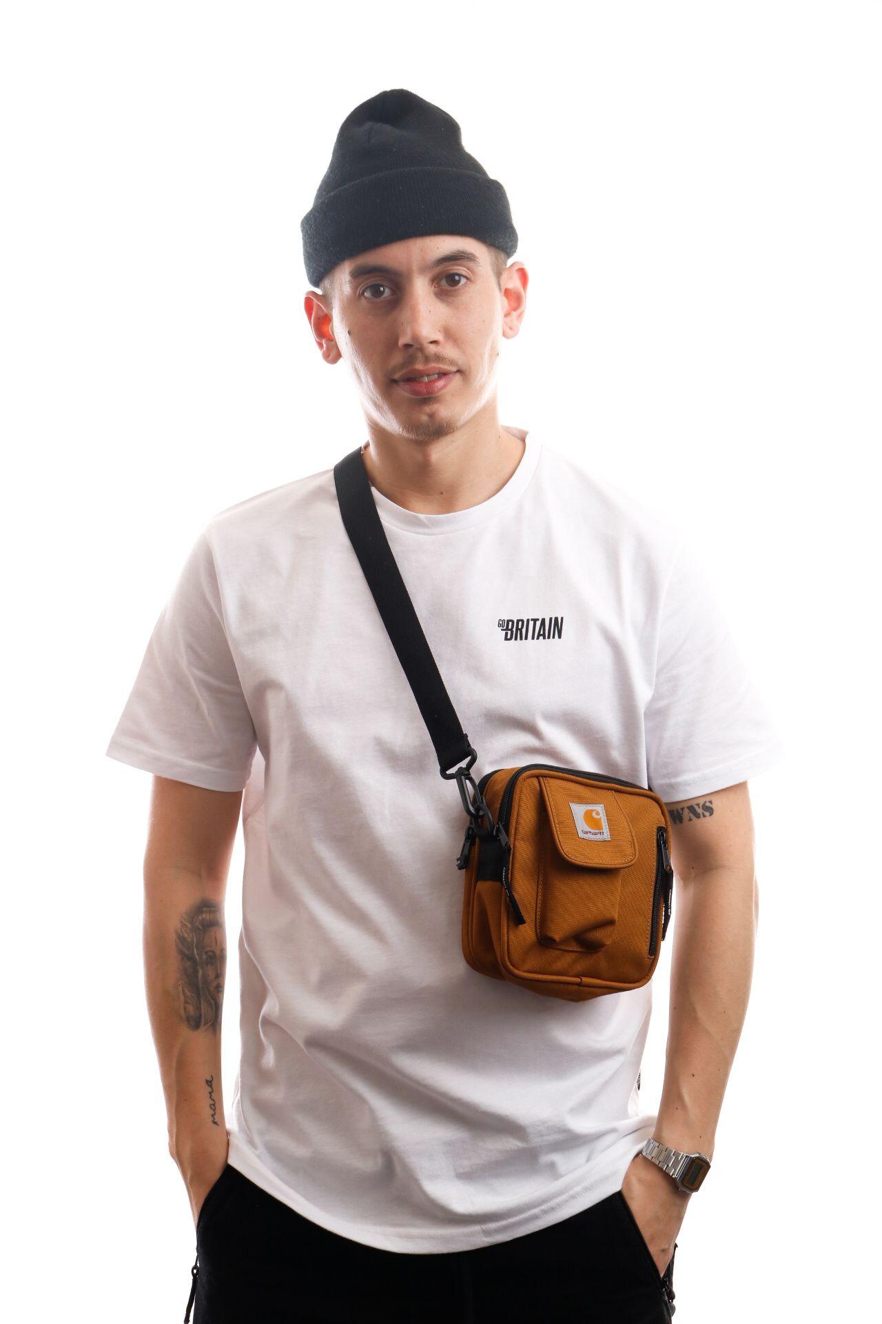 Afbeelding van Carhartt Wip Essentials Bag I006285 Schoudertas Hamilton Brown